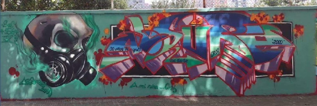 Wallspot - ABSURE2000 -  - Barcelona - Agricultura - Graffity - Legal Walls - Letters, Illustration