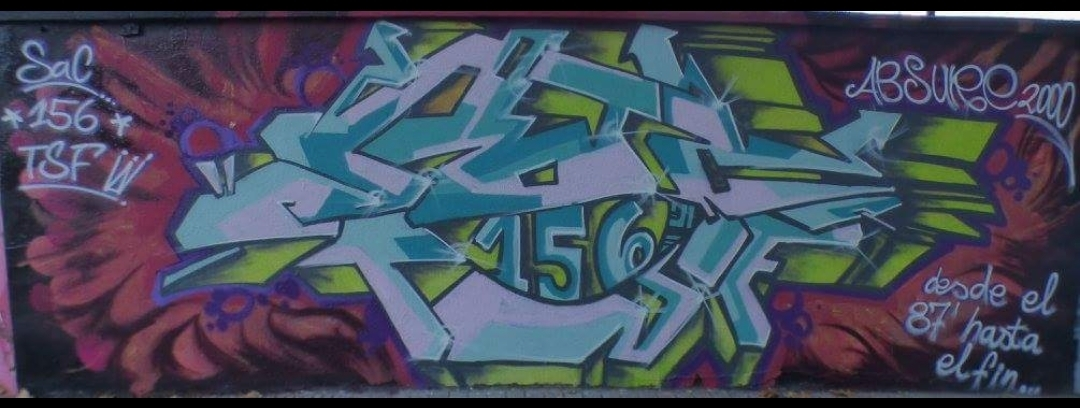 Wallspot - ABSURE2000 -  - Barcelona - Forum Place - Graffity - Legal Walls -