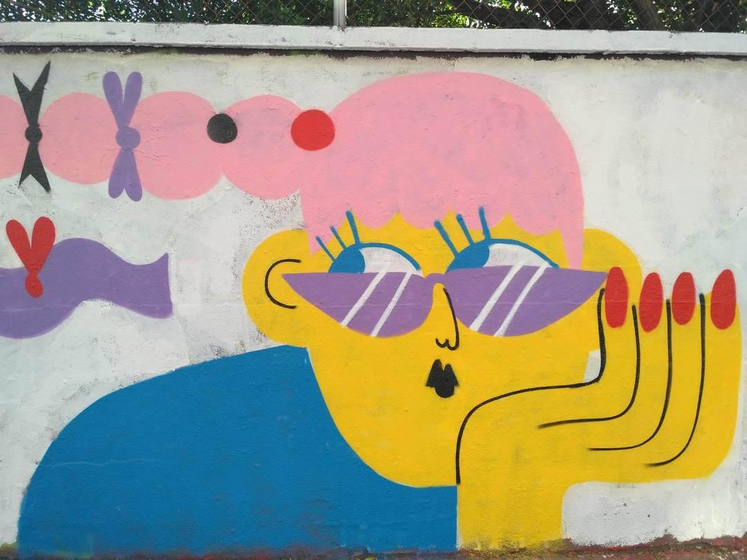 Wallspot - evalop - evalop - Project 20/09/2018 - Barcelona - Agricultura - Graffity - Legal Walls - Illustration - Artist - EmilyE