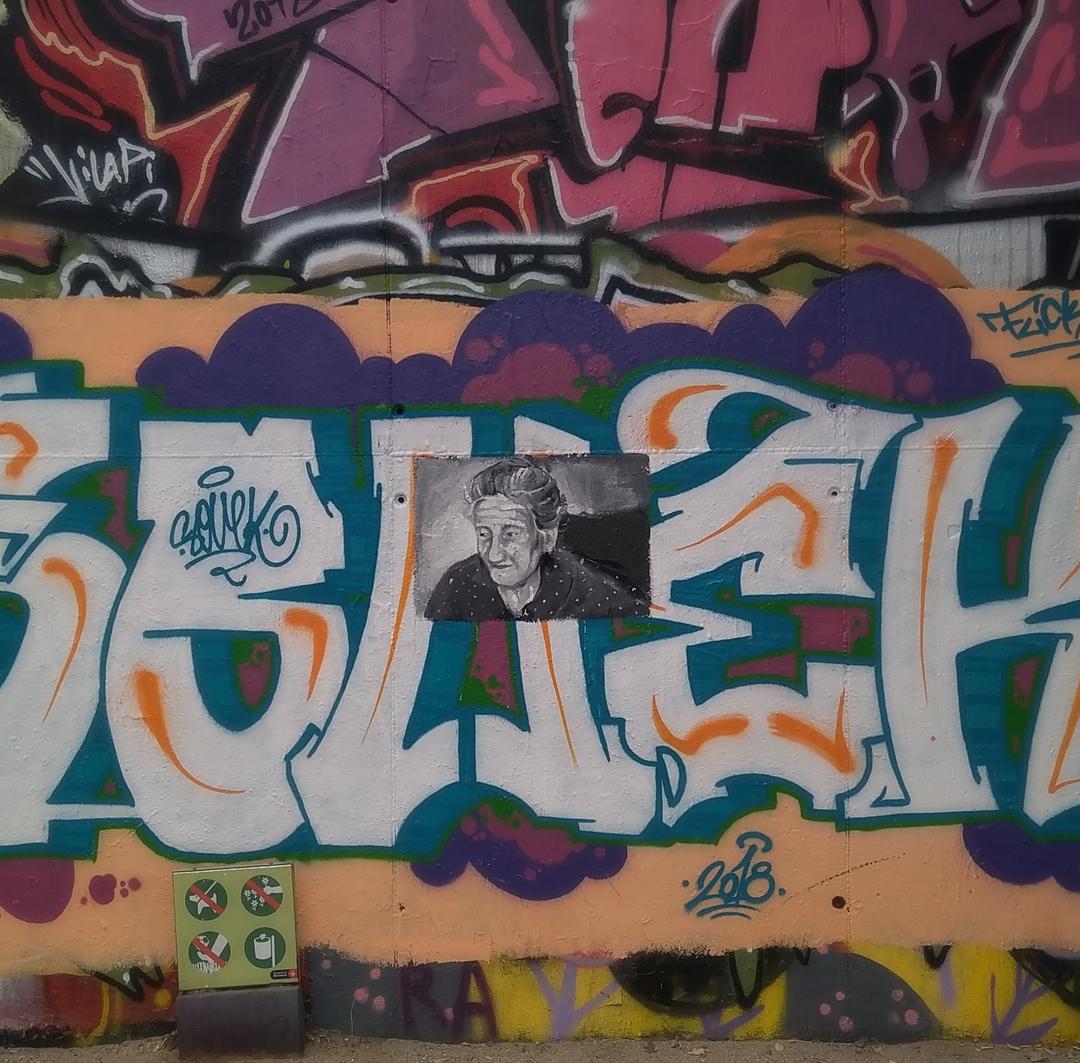 Wallspot - Jaume Montserrat - Mas Guinardó - Jaume Montserrat - Barcelona - Mas Guinardó - Graffity - Legal Walls - Illustration, Others