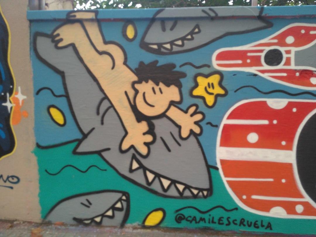 Wallspot - evalop - evalop - Project 12/10/2018 - Barcelona - Agricultura - Graffity - Legal Walls - Illustration