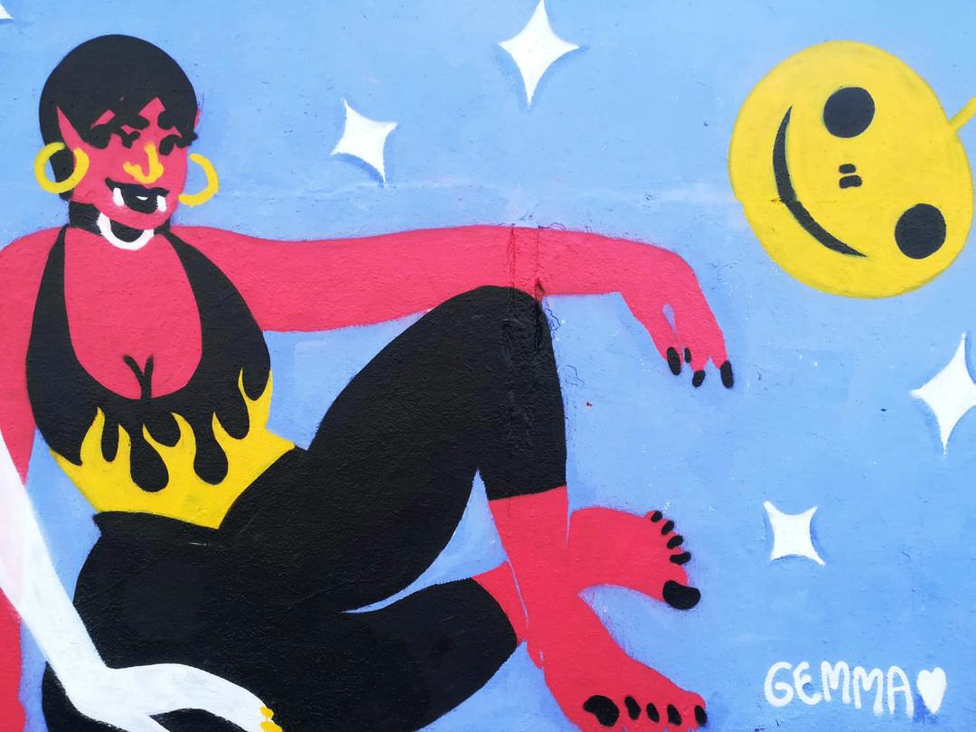 Wallspot - gemfontanals - No Tricks All Treats - Barcelona - Agricultura - Graffity - Legal Walls - Illustration