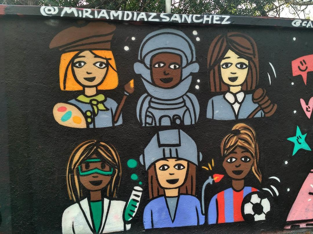 Wallspot - evalop - evalop - Proyecto 29/11/2018 - Barcelona - Agricultura - Graffity - Legal Walls - Illustration - Artist - miriam diaz sanchez