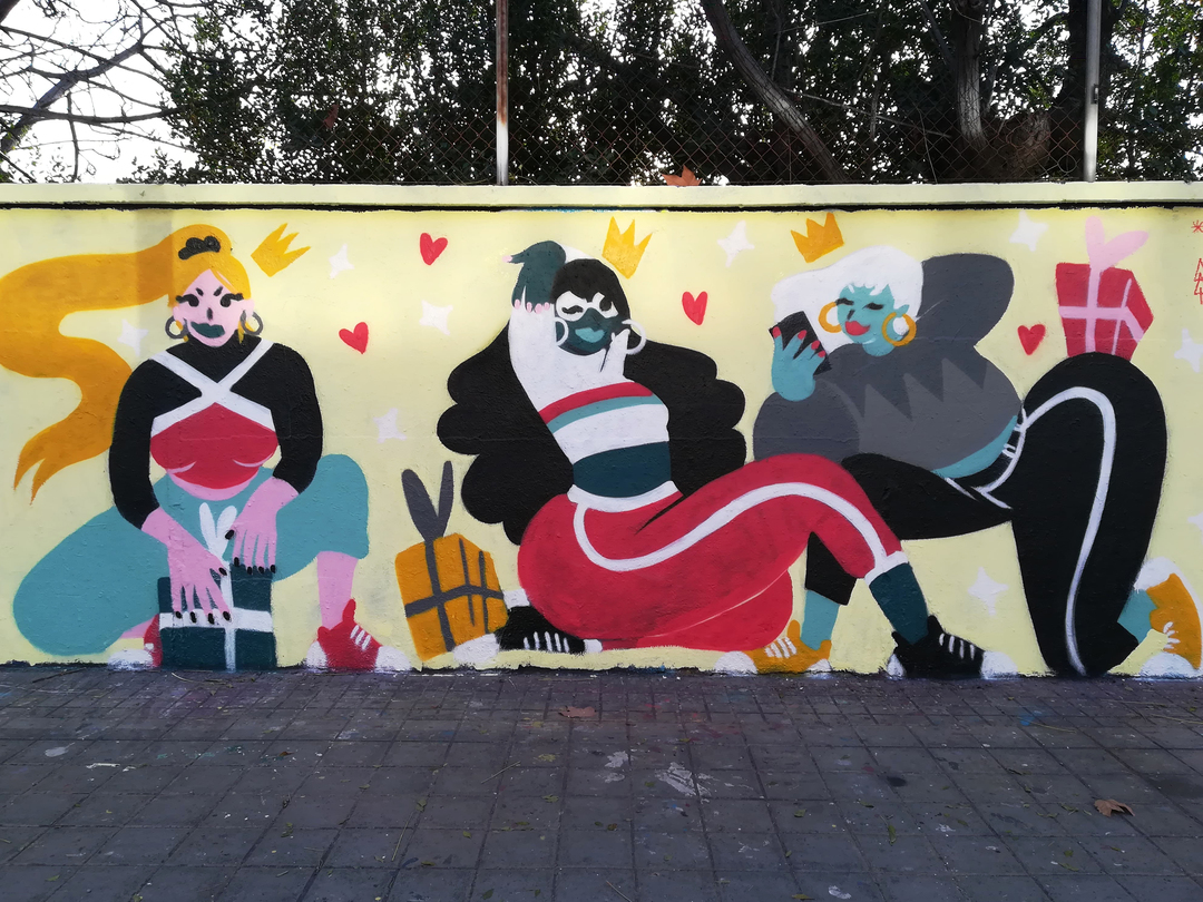 Wallspot - gemfontanals - Reinas Magas - Barcelona - Agricultura - Graffity - Legal Walls - Illustration