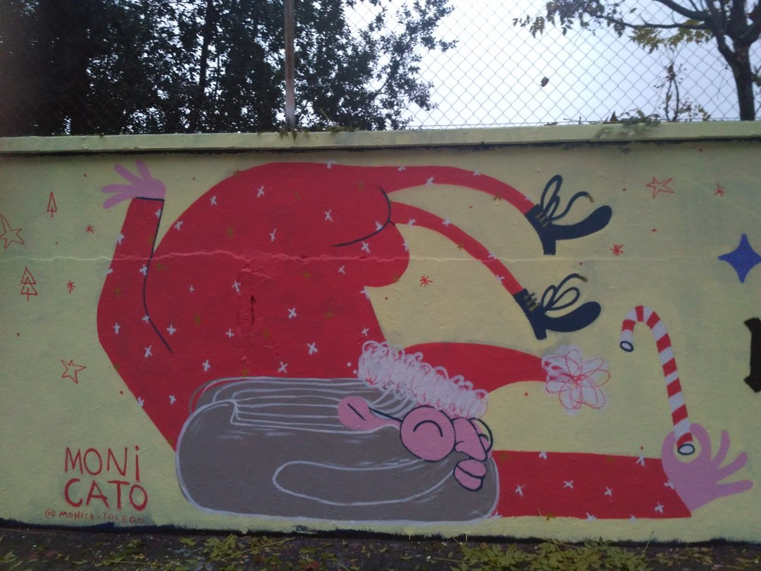 Wallspot - evalop - evalop - Proyecto 14/12/2018 - Barcelona - Agricultura - Graffity - Legal Walls - Illustration - Artist - MONI CATO
