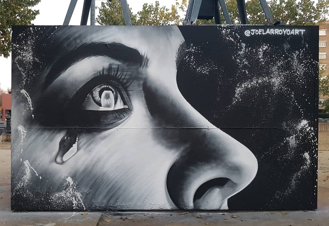 Wallspot - Joelarroyo - Tres Xemeneies - Barcelona - Tres Xemeneies - Graffity - Legal Walls - Altres