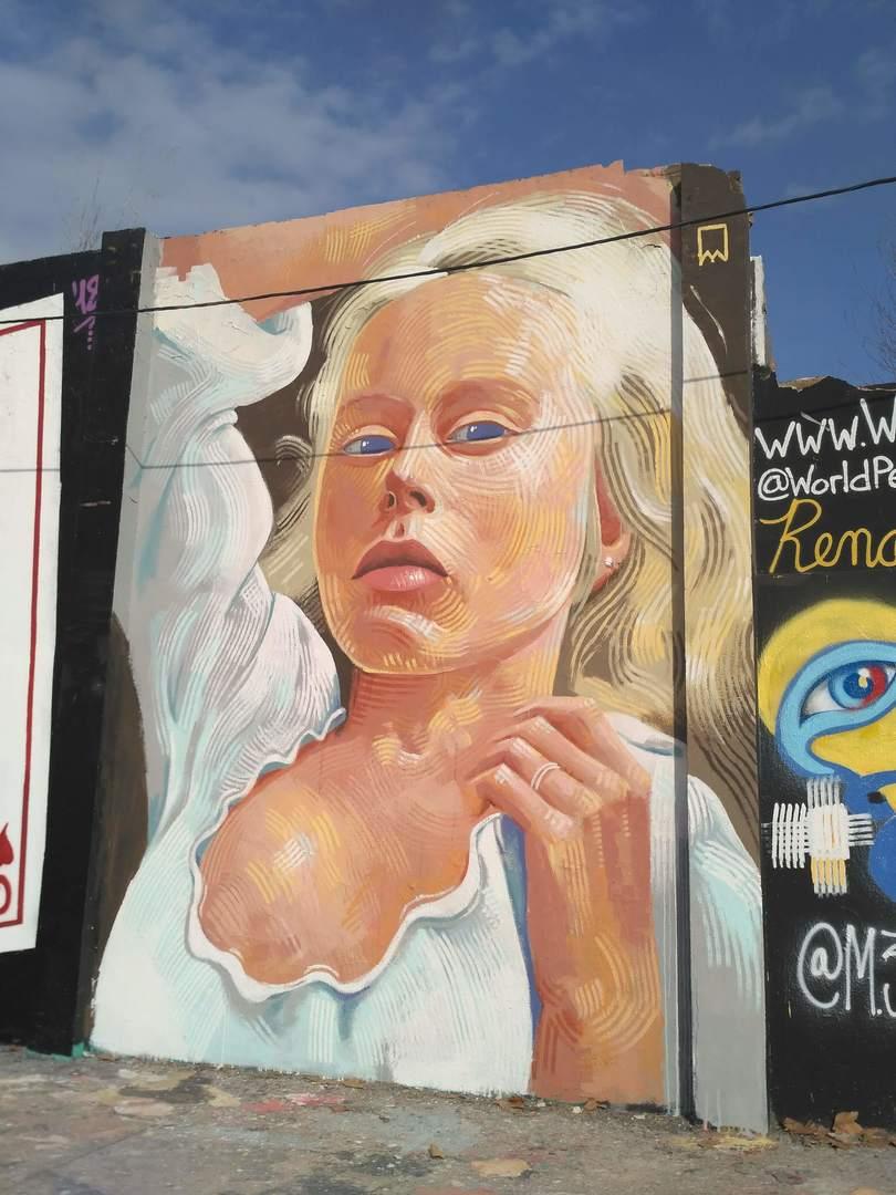 Wallspot - evalop - evalop - Proyecto 17/01/2019 - Barcelona - Agricultura - Graffity - Legal Walls - Illustration - Artist - elmanu