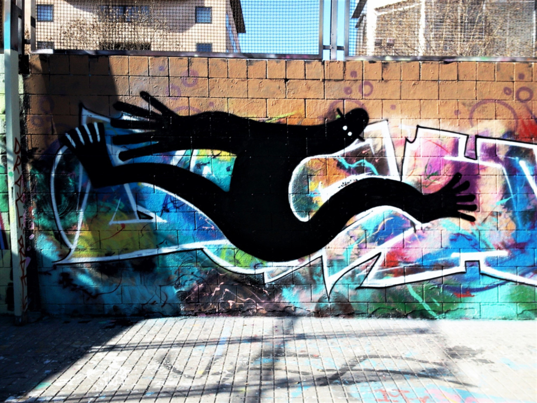 Wallspot - 3+3 - Drassanes - Waldacting - Barcelona - Drassanes - Graffity - Legal Walls -