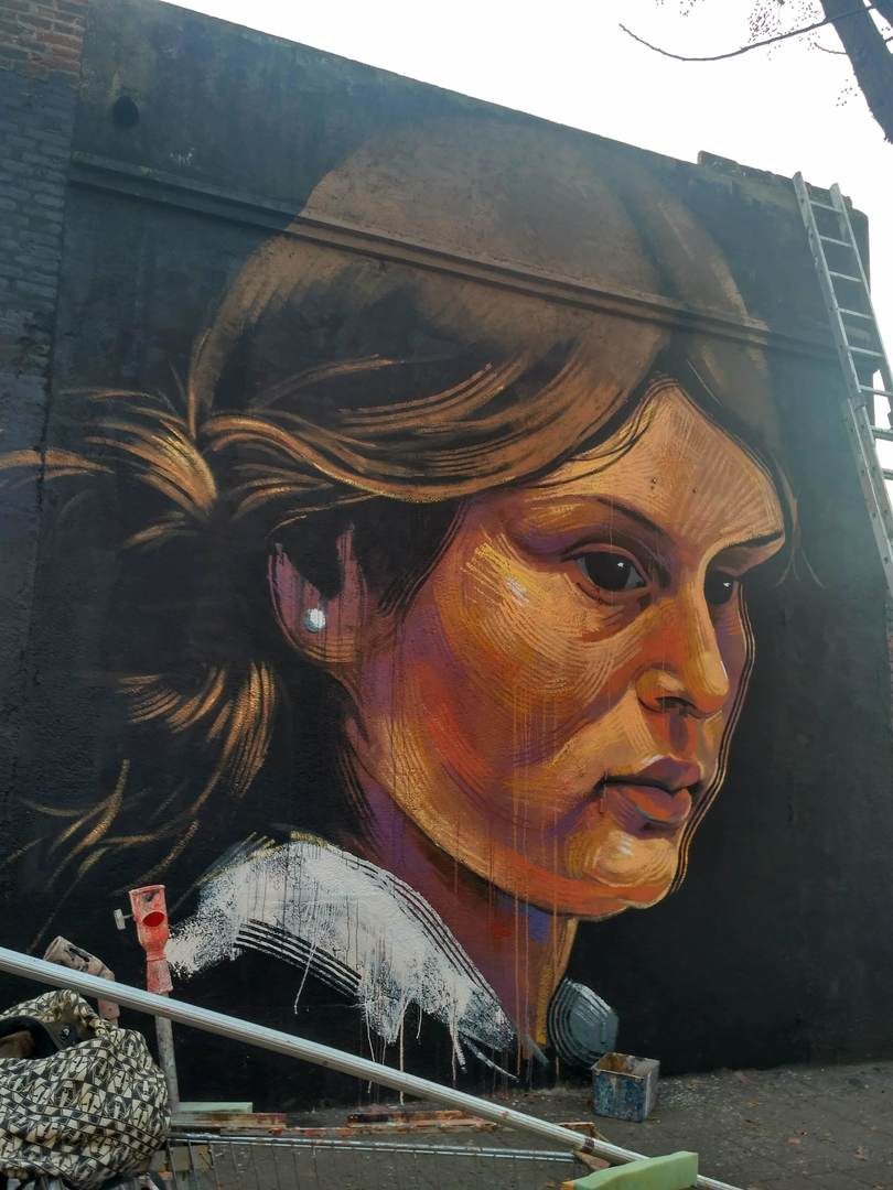 Wallspot - evalop - evalop - Proyecto 05/02/2019 - Barcelona - Selva de Mar - Graffity - Legal Walls - Illustration - Artist - elmanu