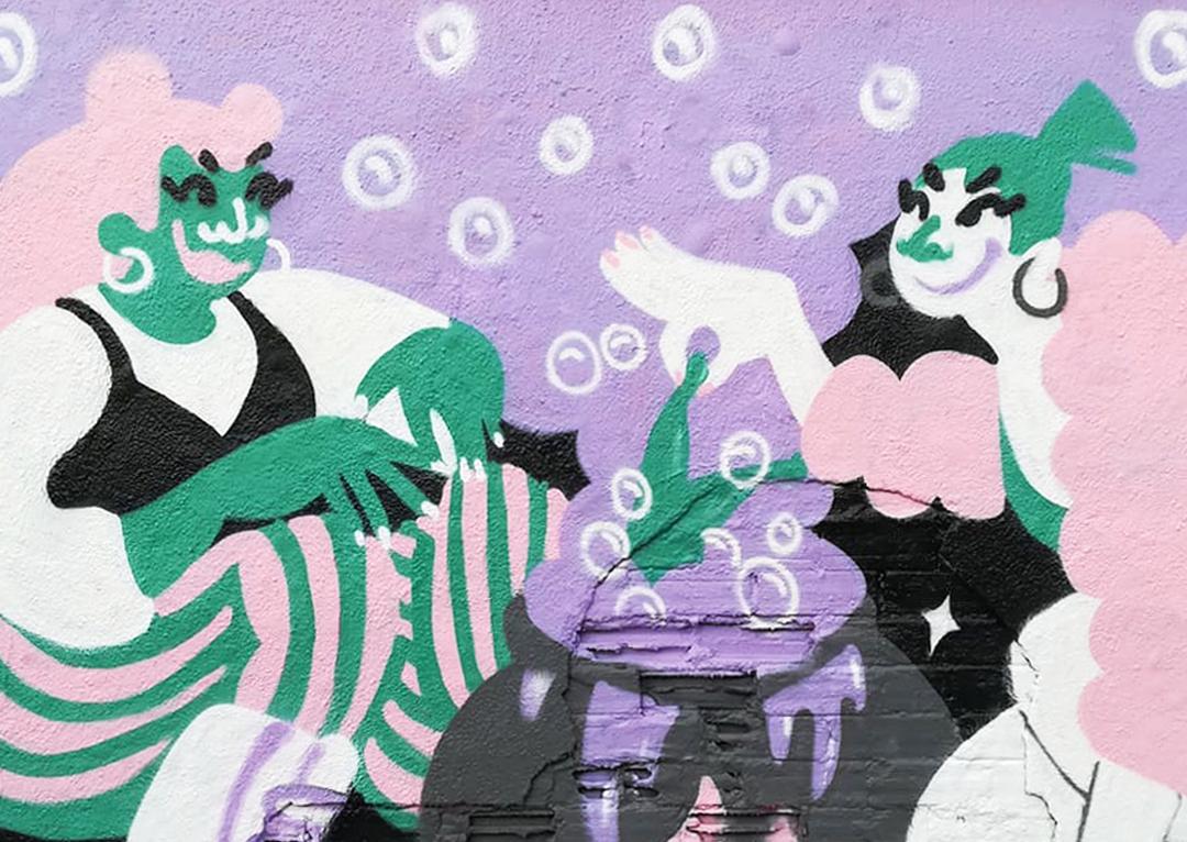 Wallspot - gemfontanals - Secret Potion - Barcelona - Agricultura - Graffity - Legal Walls - Illustration