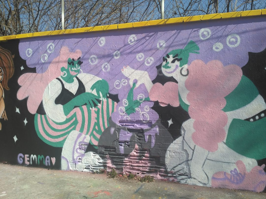 Wallspot - evalop - evalop - Project 28/02/2019 - Barcelona - Agricultura - Graffity - Legal Walls - Illustration - Artist - gemfontanals