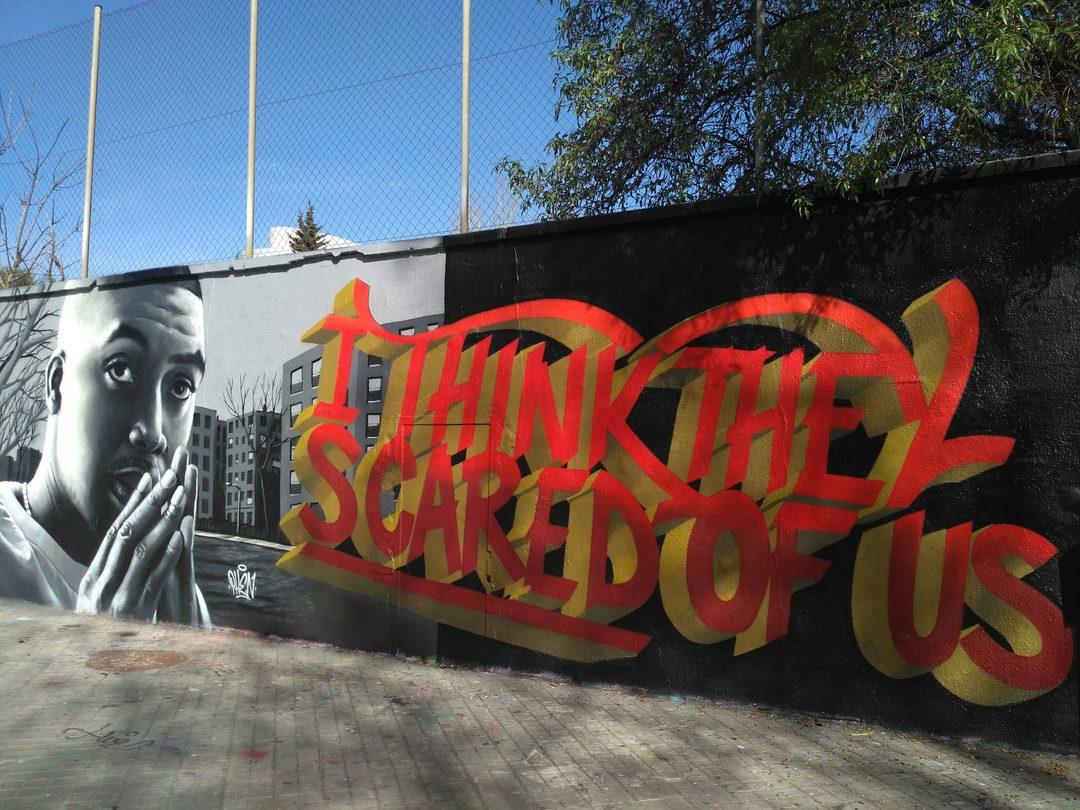 Wallspot - evalop - evalop - Proyecto 07/03/2019 - Barcelona - Agricultura - Graffity - Legal Walls - Illustration - Artist - Stefano Phen