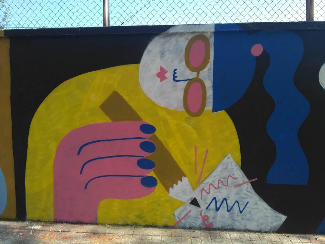 Wallspot - evalop - evalop - Proyecto 23/03/2019 - Barcelona - Agricultura - Graffity - Legal Walls - Illustration - Artist - EmilyE