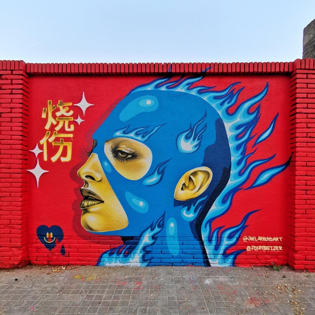 Wallspot - Joelarroyo - Selva de Mar - Barcelona - Selva de Mar - Graffity - Legal Walls - Ilustración