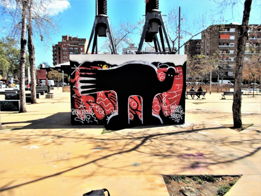 Wallspot - 3+3 - Tres Xemeneies - Waldacting - Barcelona - Tres Xemeneies - Graffity - Legal Walls -