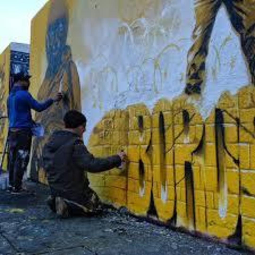 Wallspot - Rubicon1 - Tres Xemeneies - Rubicon1 - Barcelona - Tres Xemeneies - Graffity - Legal Walls - Illustration