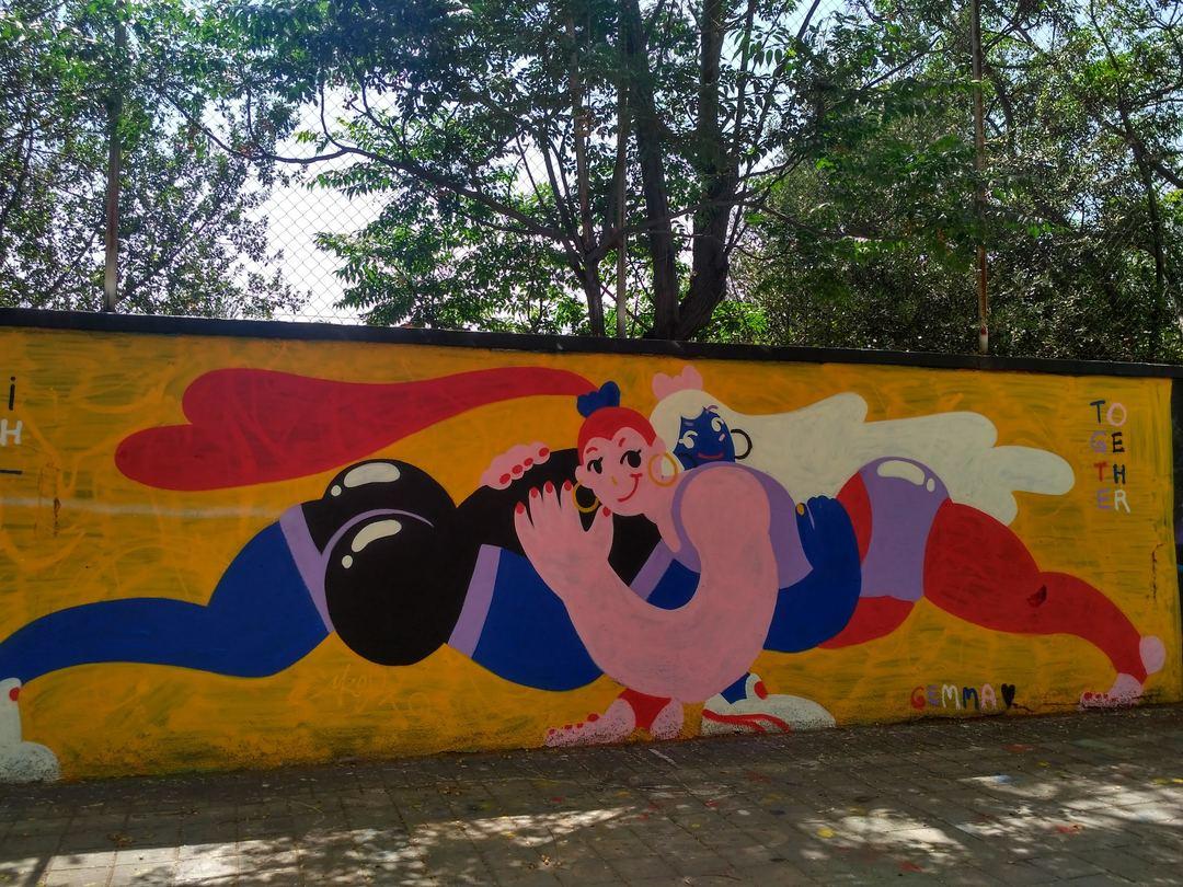 Wallspot - evalop - evalop - Project 14/06/2019 - Barcelona - Agricultura - Graffity - Legal Walls - Illustration - Artist - gemfontanals