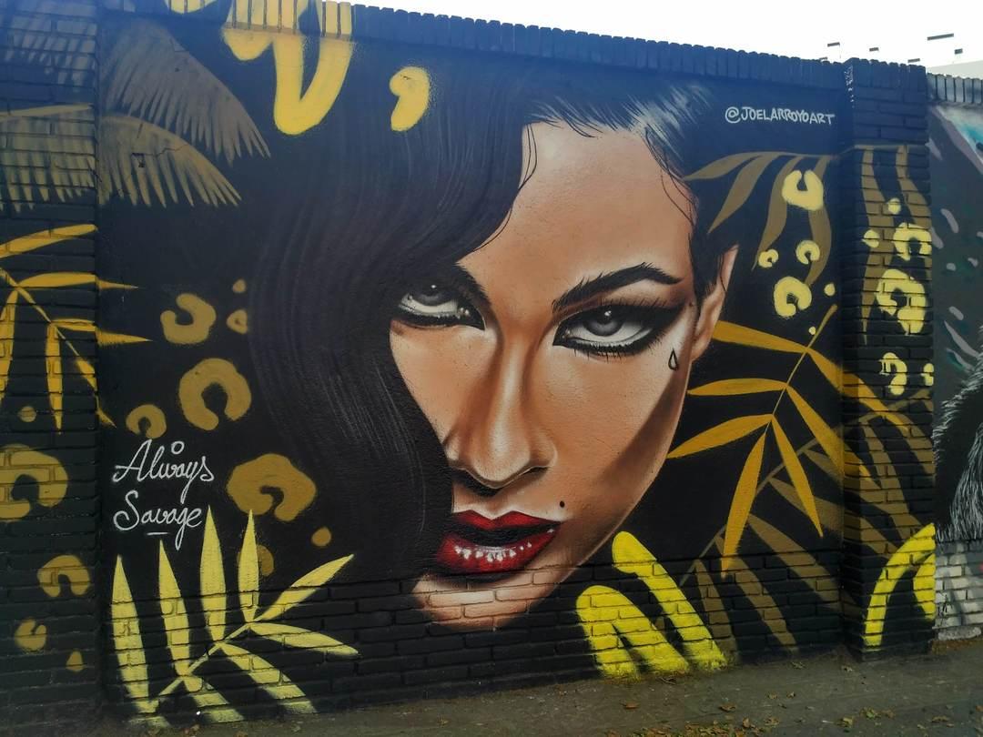 Wallspot - evalop - evalop - Proyecto 20/06/2019 - Barcelona - Selva de Mar - Graffity - Legal Walls - Ilustración - Artist - Joelarroyo