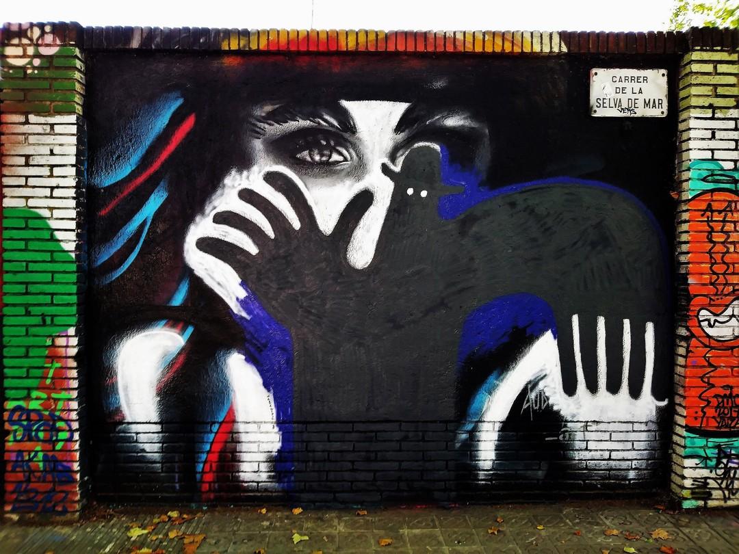 Wallspot - 3+3 - Selva de Mar - Barcelona - Selva de Mar - Graffity - Legal Walls -