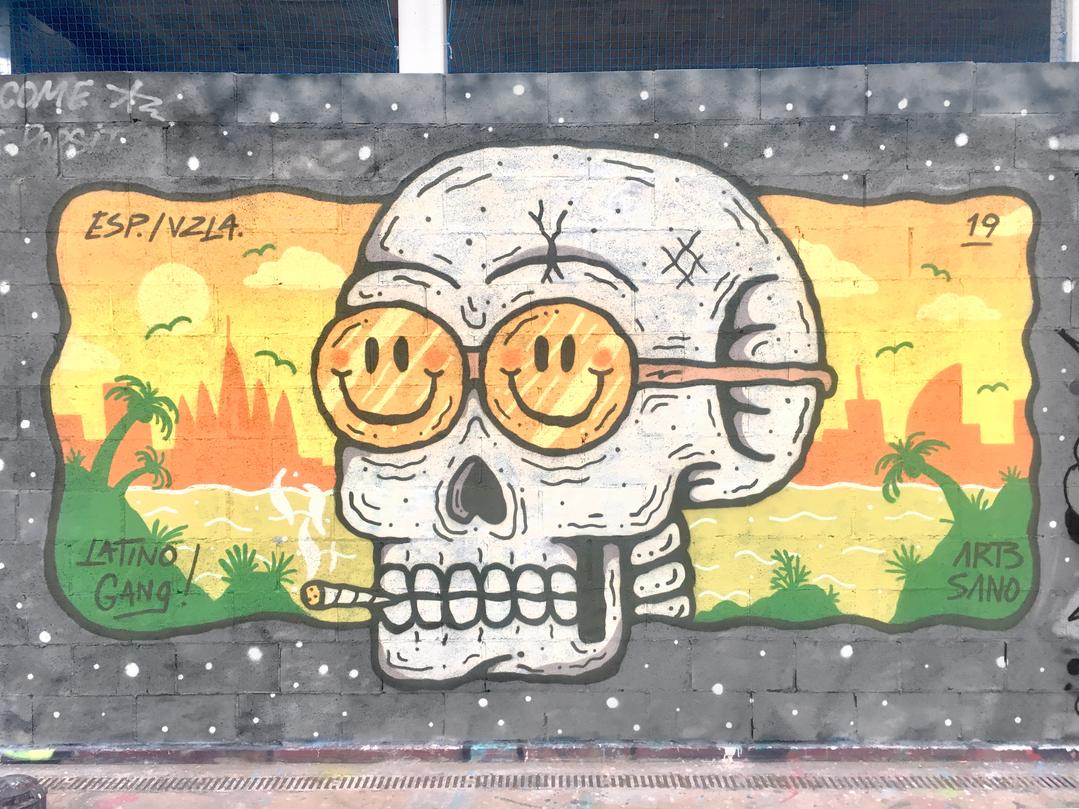 Wallspot - art3sano - Tres Xemeneies - art3sano - Barcelona - Tres Xemeneies - Graffity - Legal Walls - Illustration