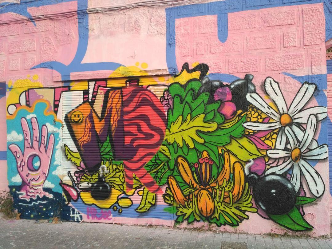 Wallspot - evalop - evalop - Project 18/09/2019 - Barcelona - Western Town - Graffity - Legal Walls - Ilustración
