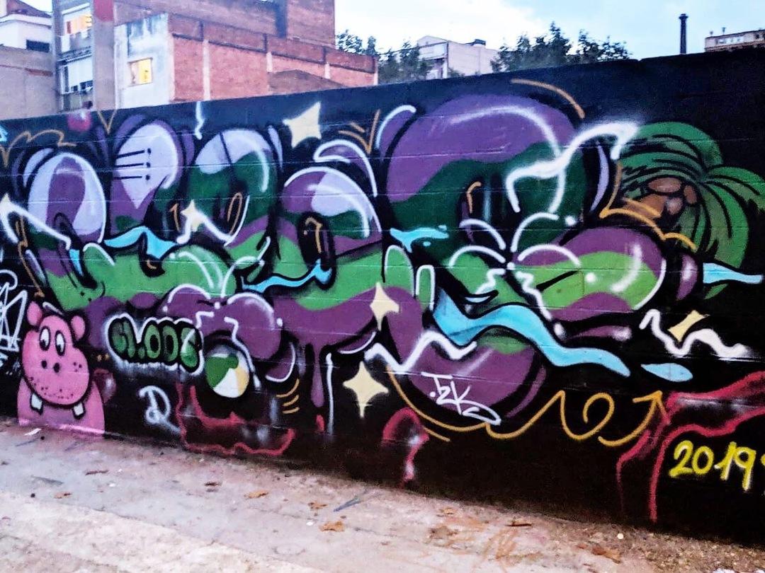 Wallspot - KSKONE - KSK1 ft. CLOOS - Barcelona - Poble Nou - Graffity - Legal Walls - ,