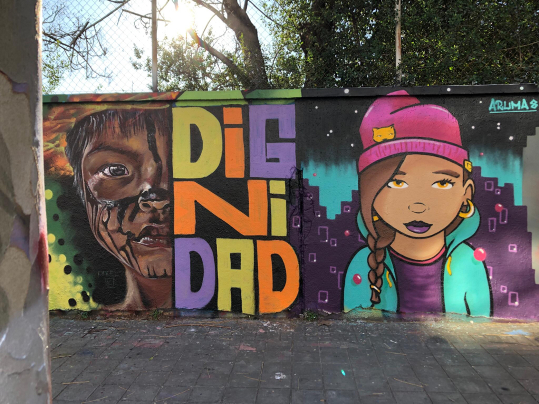 Wallspot - pincel Tattoo - dignidad 2 - Barcelona - Selva de Mar - Graffity - Legal Walls - Otros