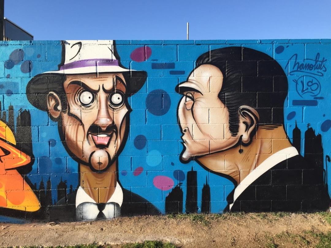 Wallspot - Manoluts -  - Barcelona - Parc de la Bederrida - Graffity - Legal Walls -