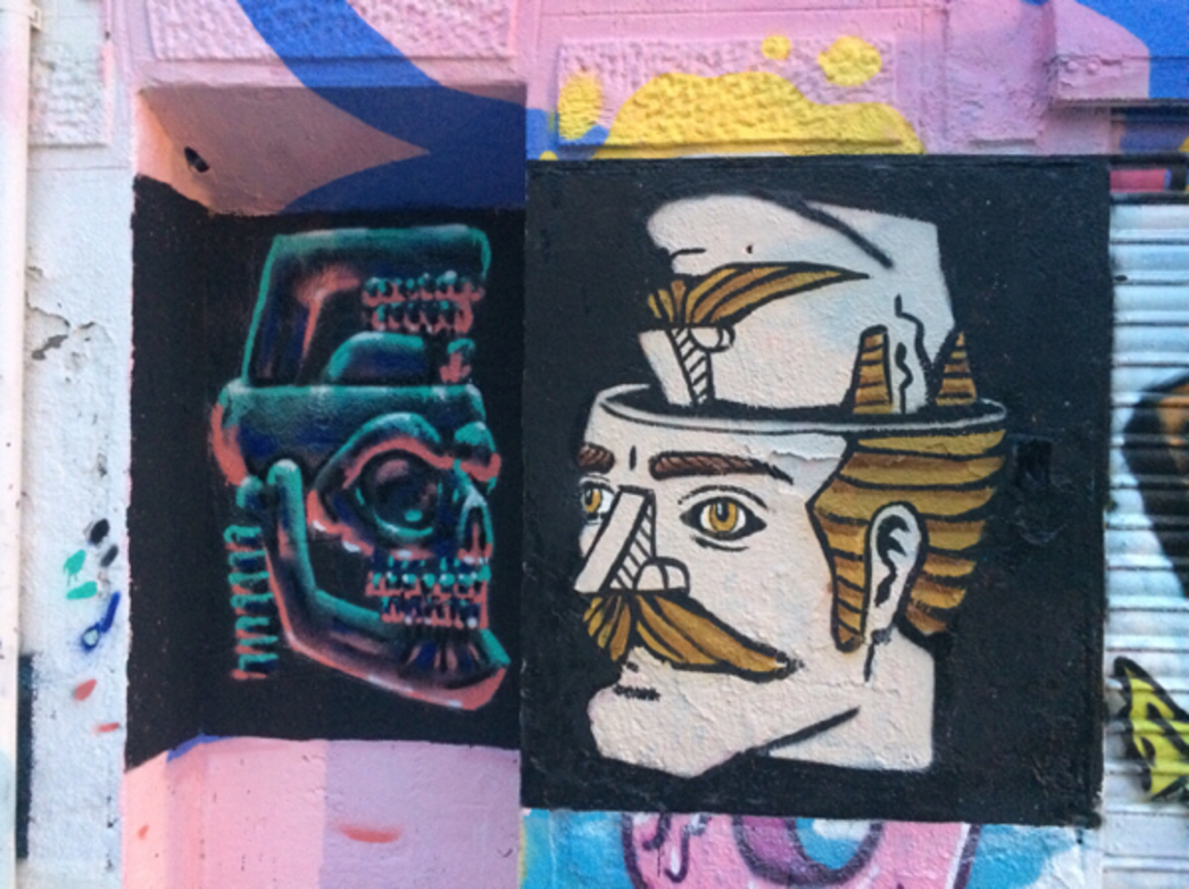 Wallspot - ink_rats -  - Barcelona - Western Town - Graffity - Legal Walls -