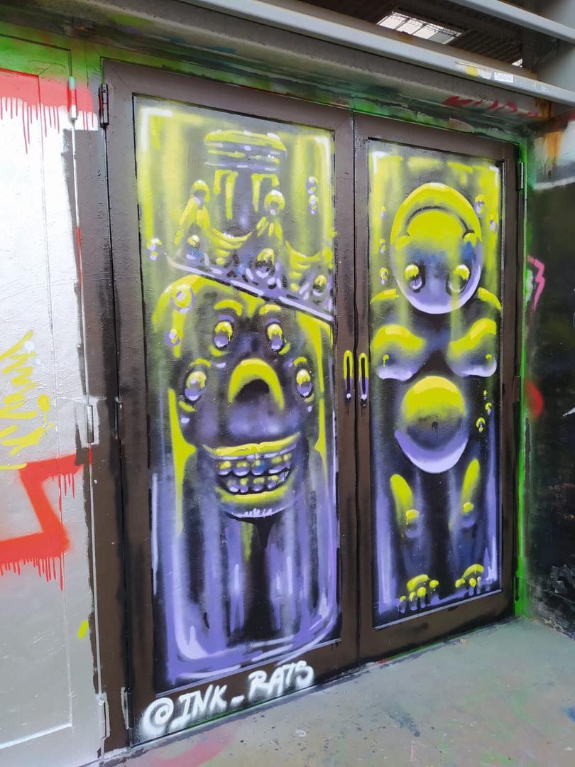 Wallspot - ink_rats - Tres Xemeneies - Barcelona - Tres Xemeneies - Graffity - Legal Walls -
