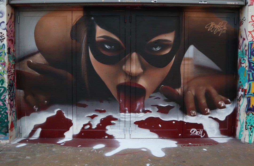 Wallspot - Bublegum -  - Barcelona - Tres Xemeneies - Graffity - Legal Walls -