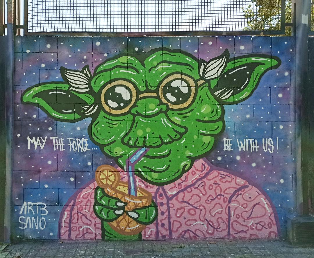 Wallspot - art3sano - Drassanes - art3sano - Barcelona - Drassanes - Graffity - Legal Walls - Illustration