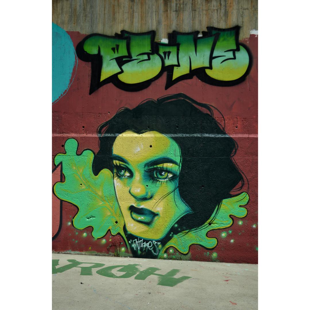 Wallspot - martantares - Skate Park les corts - martantares - Barcelona - Skate Park les corts - Graffity - Legal Walls - Il·lustració