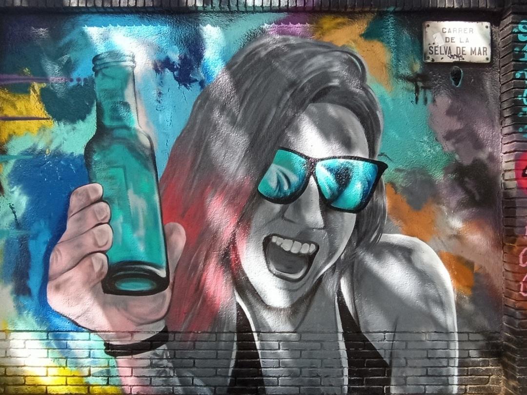 Wallspot - evalop - evalop - Project 26/06/2020 - Barcelona - Selva de Mar - Graffity - Legal Walls - Illustration - Artist - ABSURE2000