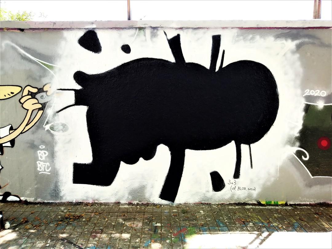 Wallspot - 3+3 - Agricultura - Barcelona - Agricultura - Graffity - Legal Walls -