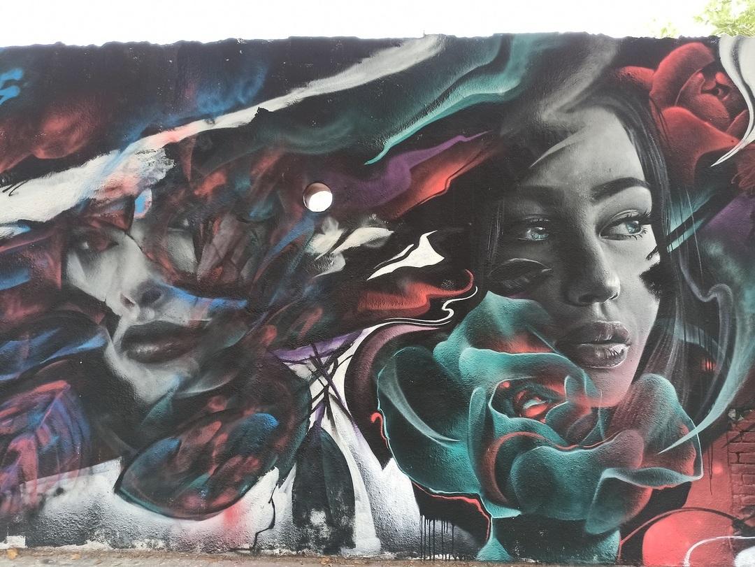 Wallspot - evalop - evalop - Project 14/07/2020 - Barcelona - Agricultura - Graffity - Legal Walls -  - Artist - Bublegum