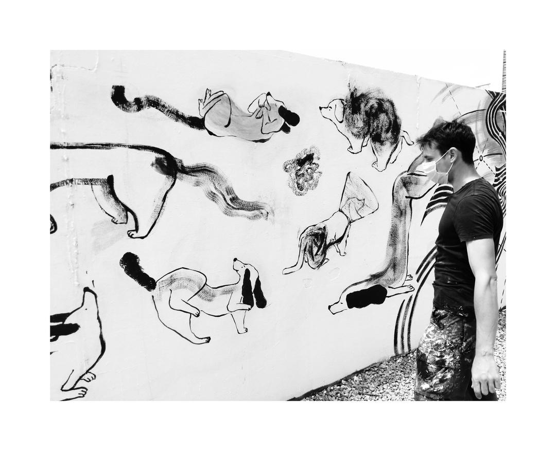 Wallspot - Maria Gargot - Parc de la Bederrida - Maria Gargot - Barcelona - Parc de la Bederrida - Graffity - Legal Walls - Illustration