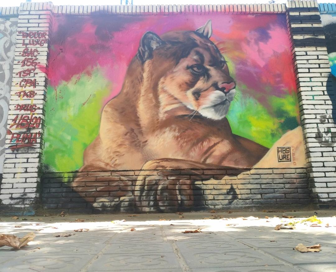 Wallspot - ABSURE2000 - PUMA - Barcelona - Selva de Mar - Graffity - Legal Walls - Letters