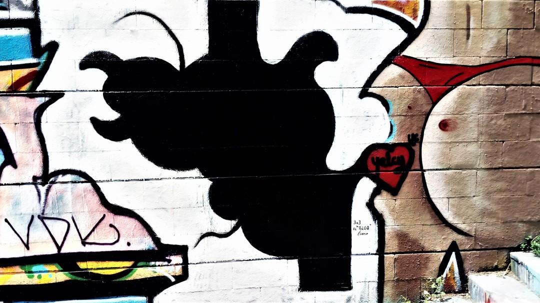 Wallspot - 3+3 - Drassanes - Barcelona - Drassanes - Graffity - Legal Walls -