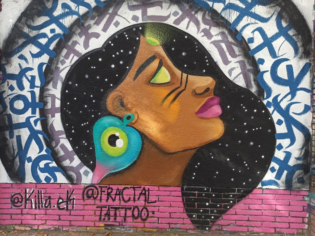 Wallspot - evalop - evalop - Project 12/08/2020 - Barcelona - Selva de Mar - Graffity - Legal Walls - Illustration - Artist - fractaltattoo