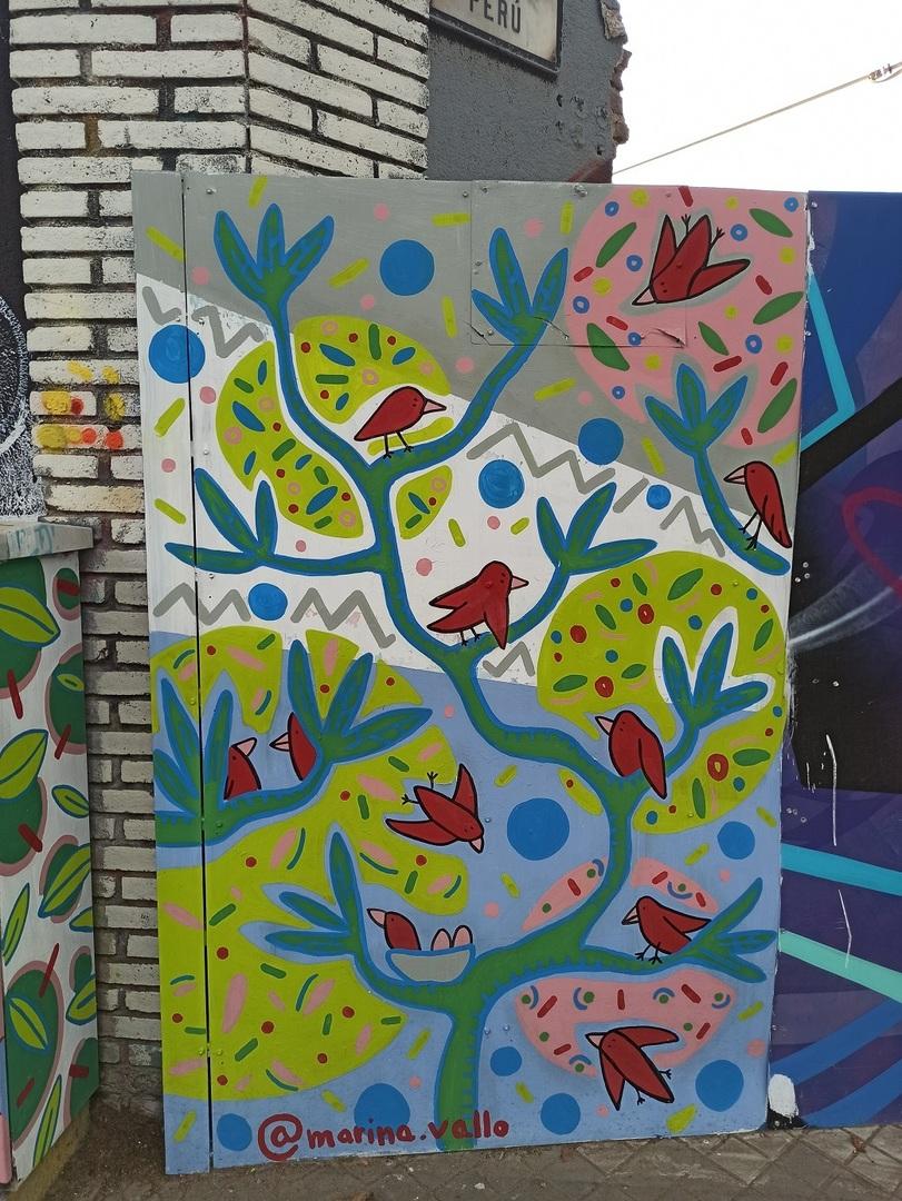 Wallspot - evalop - evalop - Project 12/08/2020 - Barcelona - Selva de Mar - Graffity - Legal Walls - Illustration - Artist - Marinavallo