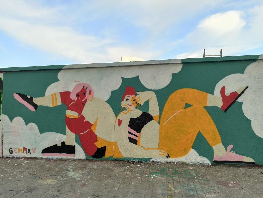 Wallspot - evalop - evalop - Project 15/09/2020 - Barcelona - Agricultura - Graffity - Legal Walls - Illustration - Artist - gemfontanals