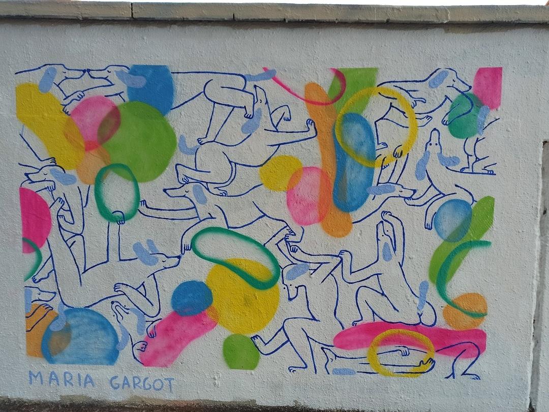 Wallspot - evalop - evalop - Project 15/09/2020 - Barcelona - Agricultura - Graffity - Legal Walls - Il·lustració - Artist - Maria Gargot