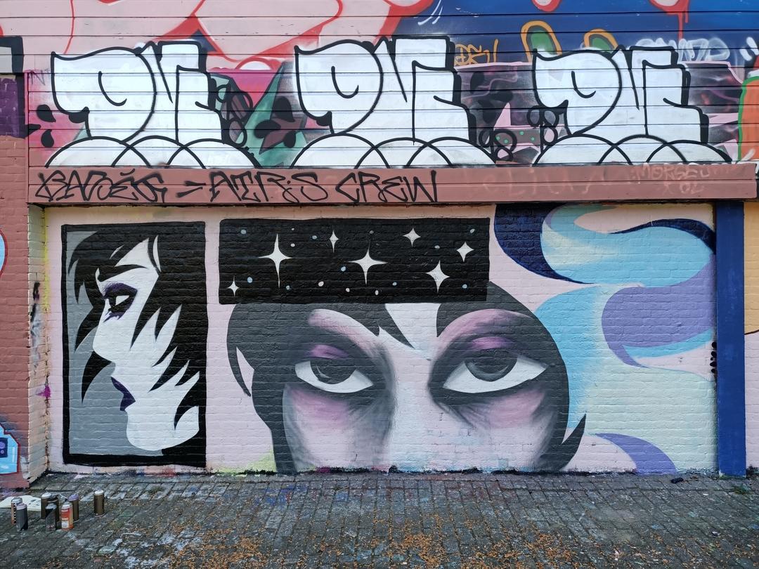 Wallspot - Sterric - Croos - Rotterdam - Croos - Graffity - Legal Walls - Illustration