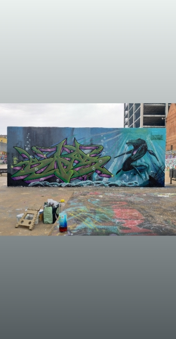 Wallspot - ABSURE2000 -  - Barcelona - Tres Xemeneies - Graffity - Legal Walls -