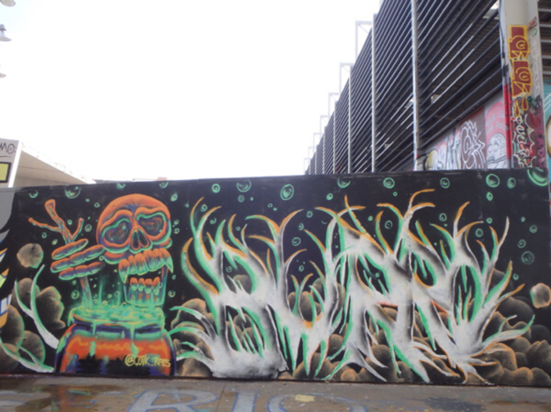 Wallspot - ink_rats -  - Barcelona - Tres Xemeneies - Graffity - Legal Walls -