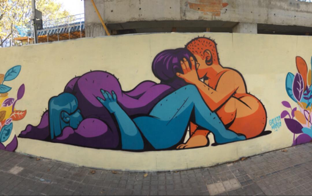 Wallspot - Bernat - . - Barcelona - Selva de Mar - Graffity - Legal Walls - Illustration - Artist - Galletamaria