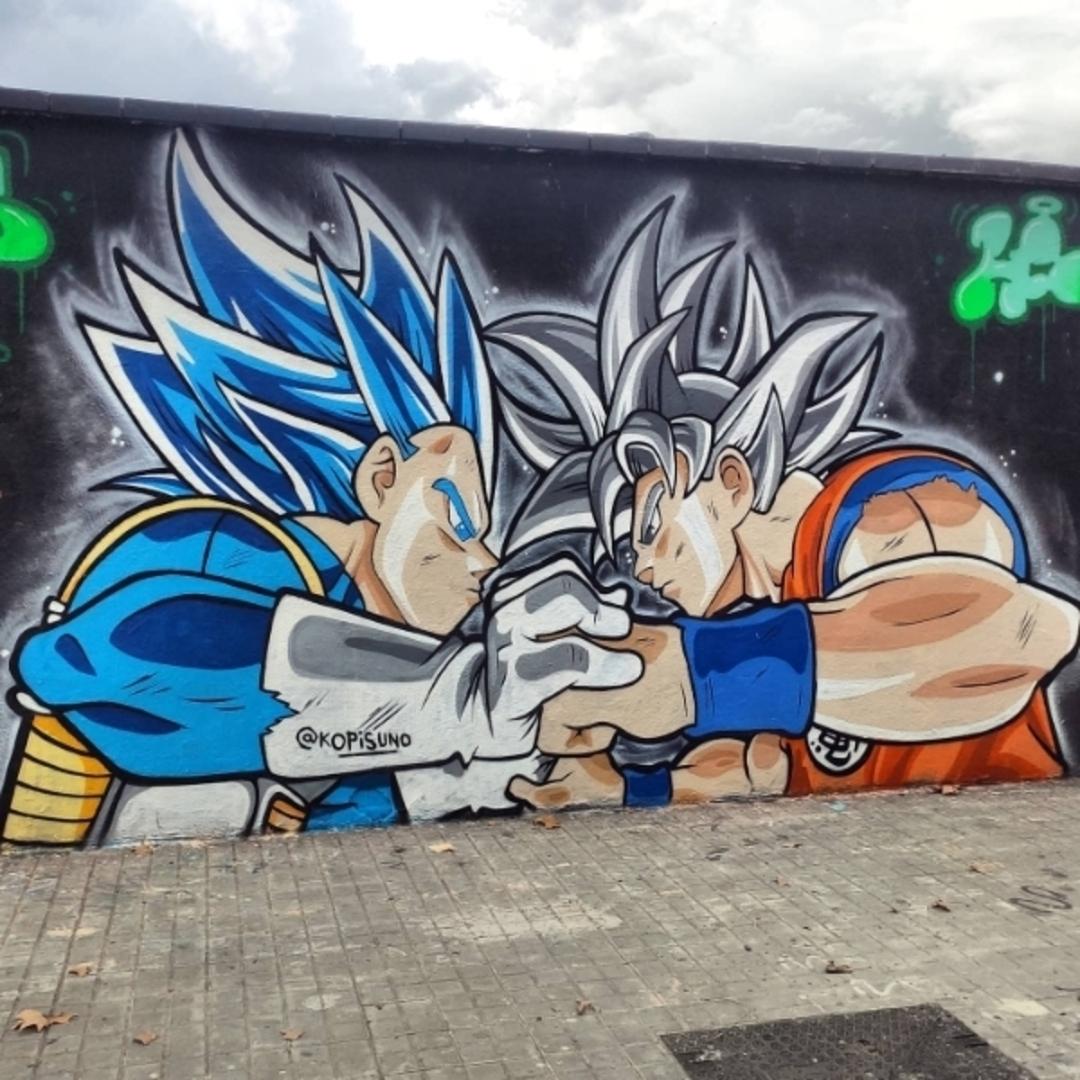 Wallspot - kopis - fight - Barcelona - Agricultura - Graffity - Legal Walls -