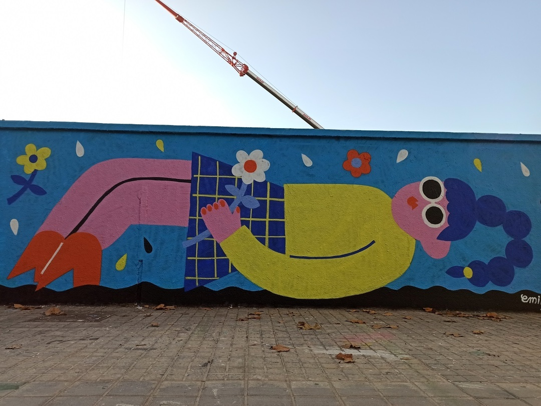 Wallspot - evalop - evalop - Project 18/11/2020 - Barcelona - Agricultura - Graffity - Legal Walls - Illustration - Artist - EmilyE