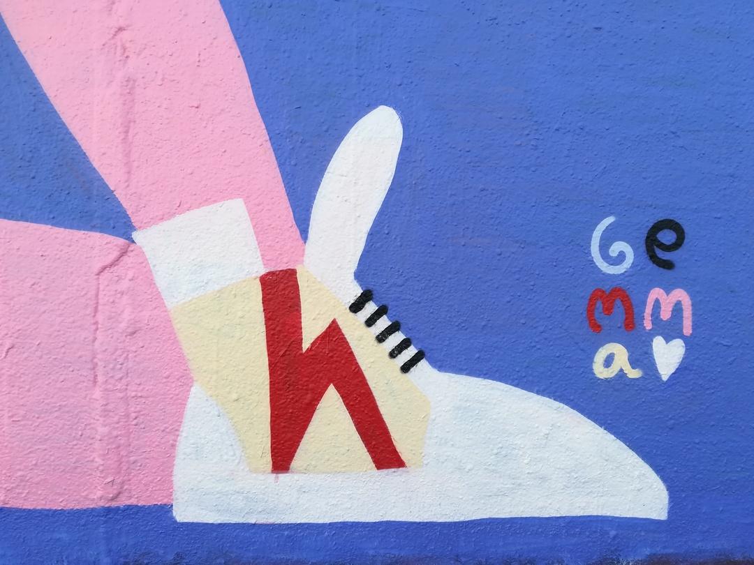 Wallspot - gemfontanals - Misty - Barcelona - Agricultura - Graffity - Legal Walls - Illustration